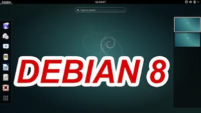 """Download ISO Debian 8 """"Jessie"""" Lengkap"""