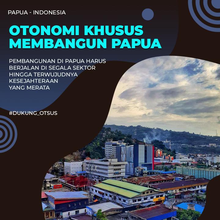 Pemerintah mengintensifkan pembangunan infrastruktur di Papua