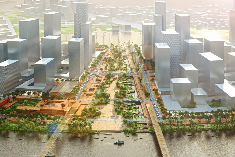 quy hoạch eco smart city thủ thiêm