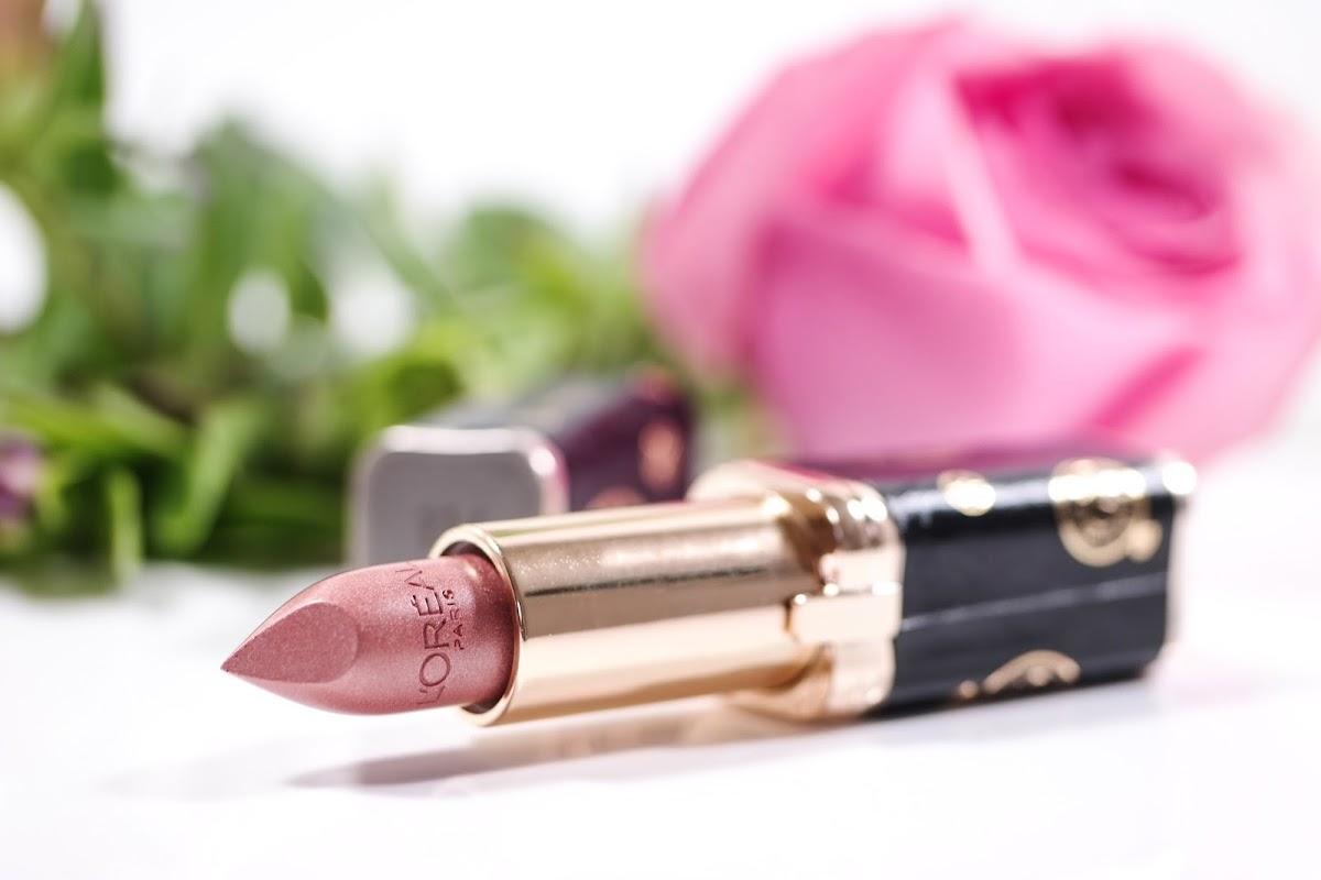 goldener Lippenstift