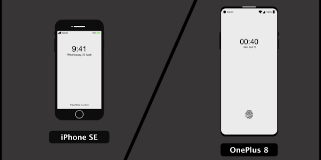 Oneplus 8 Vs Iphone SE