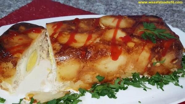 مطبخ ام وليد احلى و اسهل غراتان بطاطا بالدجاج
