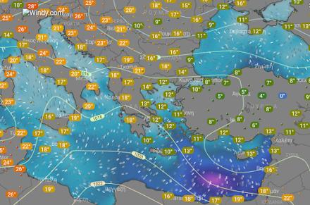 Αισθητή άνοδος της θερμοκρασίας στα ανατολικά και νότια την Παρασκευή - Ομίχλες στα δυτικά τμήματα της χώρας