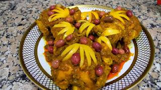 تقديم الدجاج