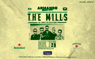The Mills en concierto Bogota 2020