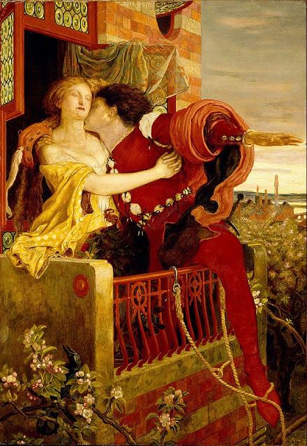 Ford Madox Brown Ромео и Джульетта