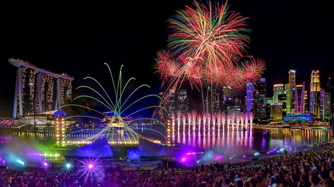 Enjoy Countdown In The Marina Bay Singapore