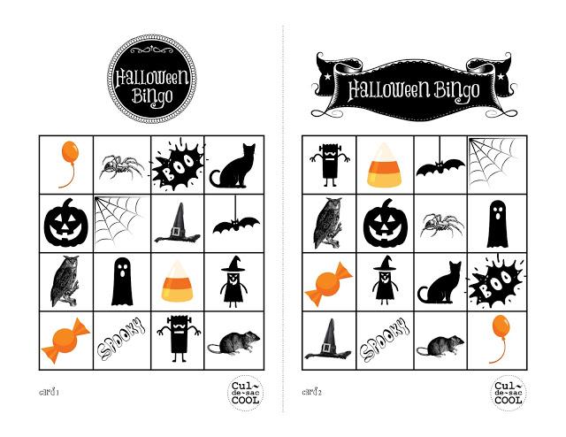 best printable halloween bingo cards with pictures numbers for free - Halloween Numbers Printable