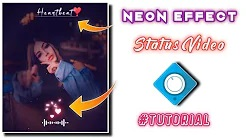 Avee player neon effect ❣️ template editing | avee player editing | template link