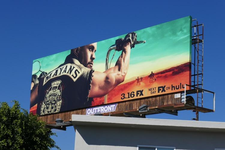 Mayans MC s3 FX billboard