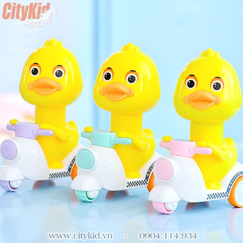 Vịt chạy xe máy đồ chơi cho bé