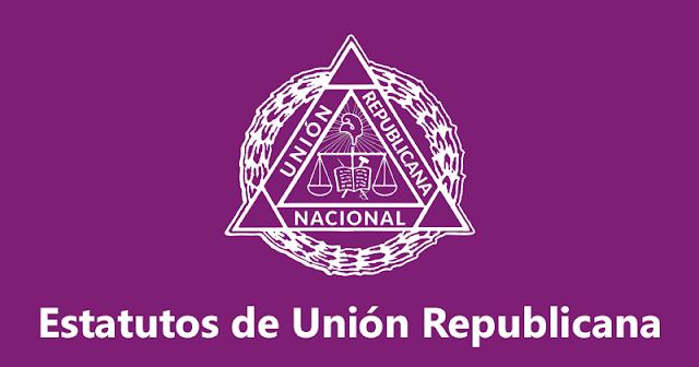 Estatutos de Unión Republicana (UR)
