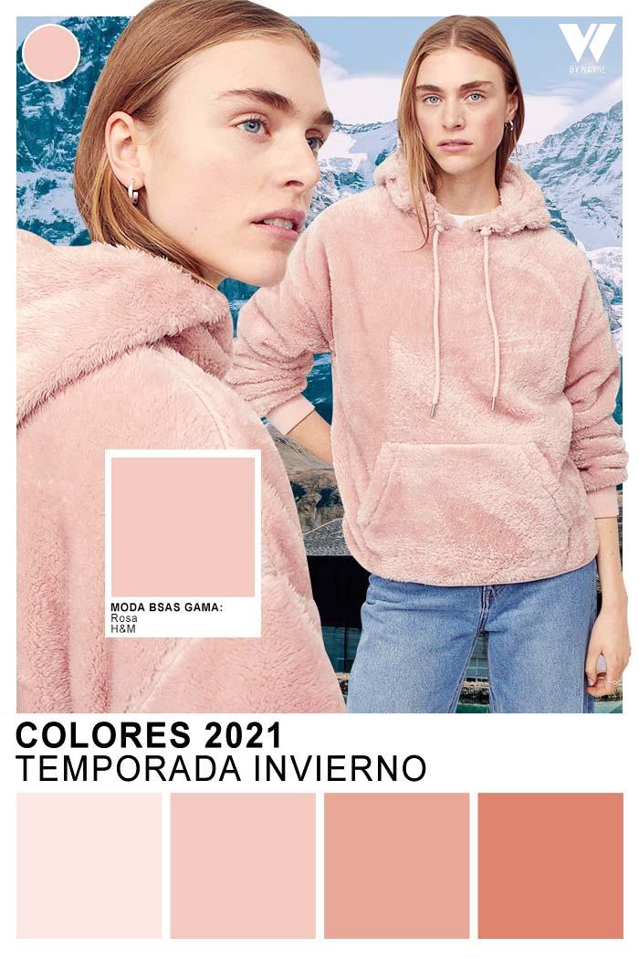 Colores otoño invierno 2021 rosa