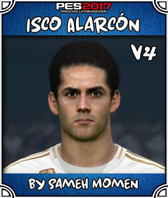 PES 2017 New Face Isco V4 by Sameh Momen