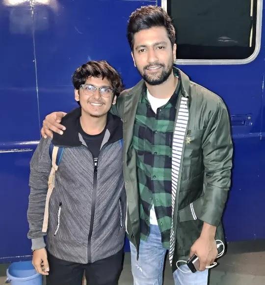 Naman Mathur with vicky kaushal