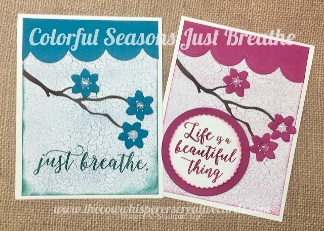 Colorful Seasons, Seasonal Layers Thinlit Dies, In Colors Just Breathe, Card, Stampin' up