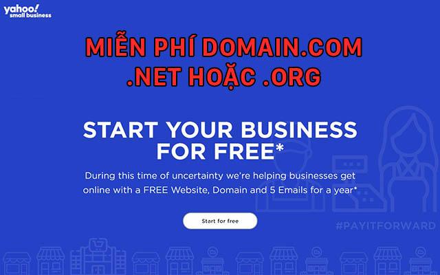 Domain-yahoo-free
