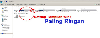 Setting Tampilan Windows 7 Paling Ringan