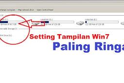 Setting Tampilan Windows 7 Paling Ringan, Jadi SUPER NGEBUT