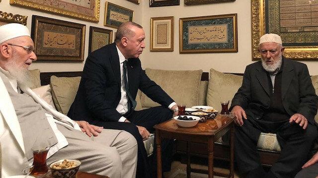 recep tayyip erdoğan ismailağa muhammed emin saraç hoca ziyareti