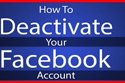 Deactivate Facebook Account and Reactivate