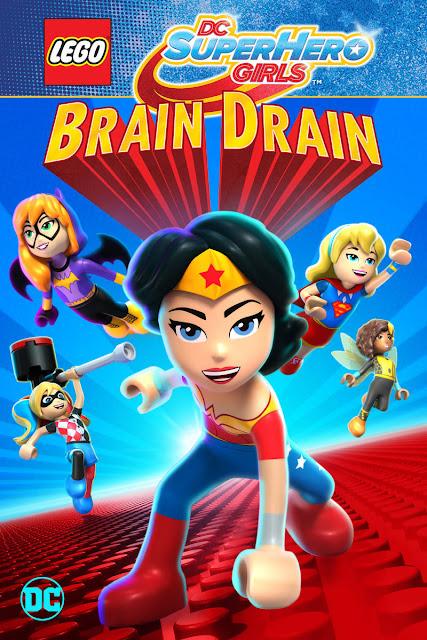 مشاهدة وتحميل فيلم الأنمي Lego DC Super Hero Girls: Brain Drain 2017 مترجم