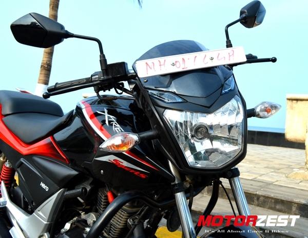 Hero Xtreme Sports Full Review | Pics, Specs & Mileage | MotorZest