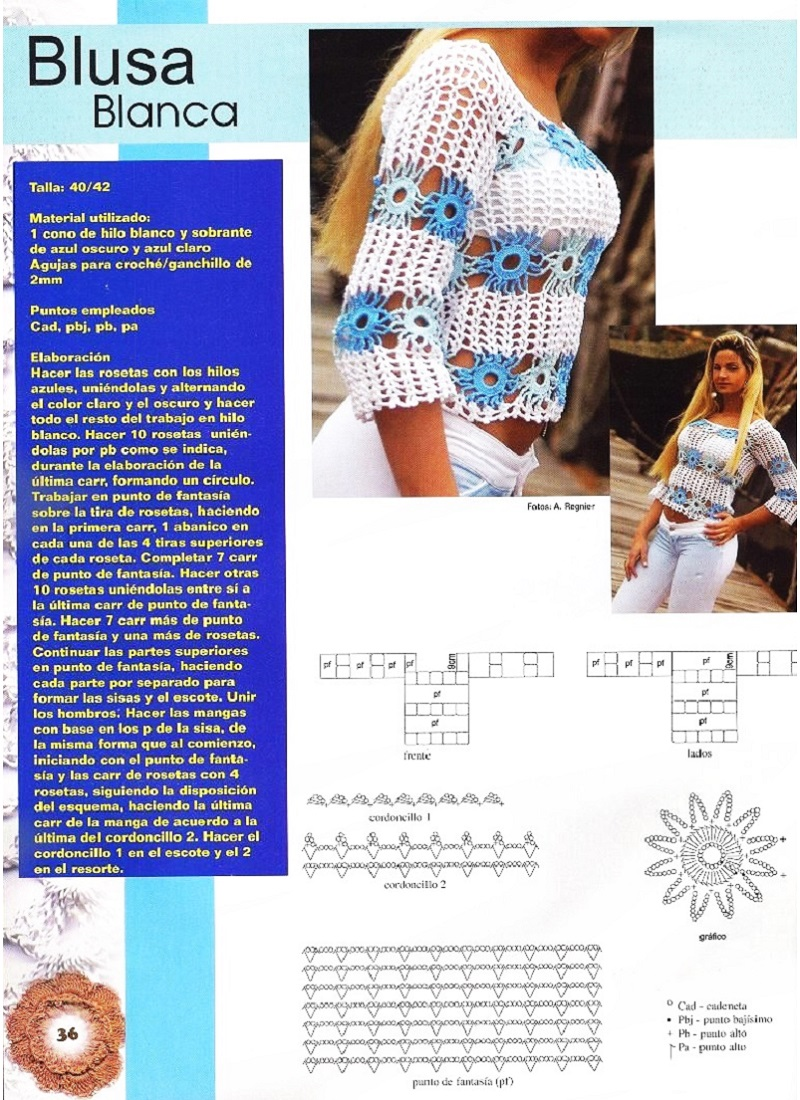 Jersey de Princesas Crochet Patron