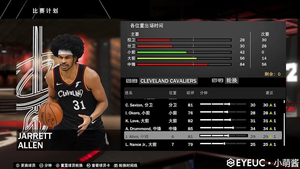 Jarrett Allen Updated Full Body Portrait Cavaliers by 小梦酱