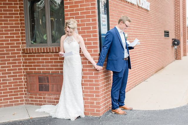 Should We Have A First Look | St. Louis Wedding Photographer