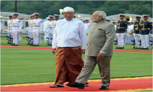 pm-modis-gifts-to-president-of-myanmar-paramnews