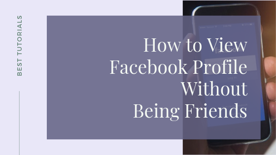 Access Private Facebook Profiles Without Being Friends<br/>