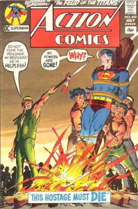Action Comics #402, Superman