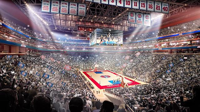 Little Caesar Arena en 2017 | PistonsFR, actualité des Detroit Pistons en France