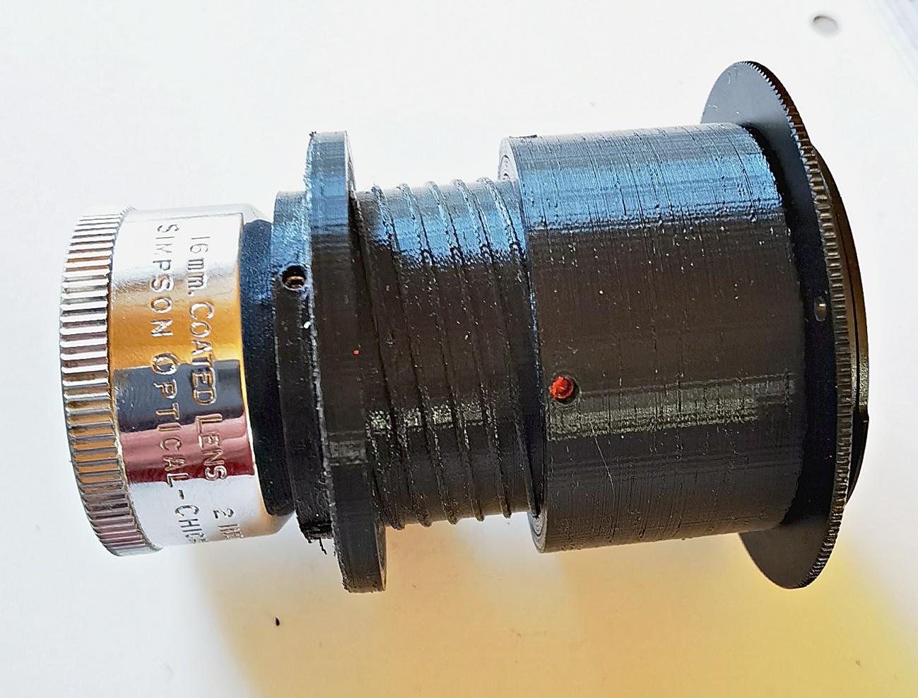 Das Simpson-Chicago f1.6 51mm (2 inch) wird readaptiert #5