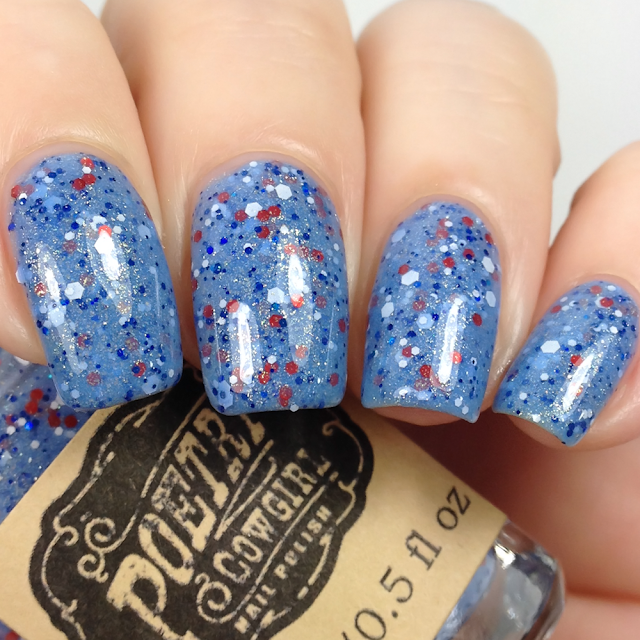 Poetry Cowgirl Nail Polish-A Good Day for a Rocket Launch