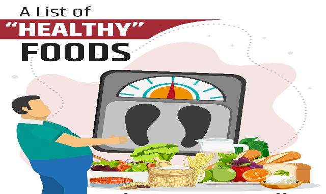 "A List Of ""healthy"" Foods That Are Actually Fatty #infographic"