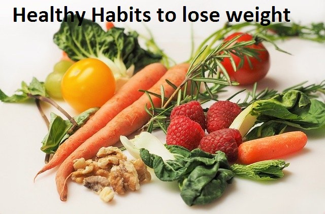 healthy habits to lose weight
