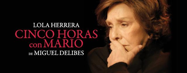 TEATRO | ´Cinco horas con Mario´.  Lola Herrera, 40 años después.