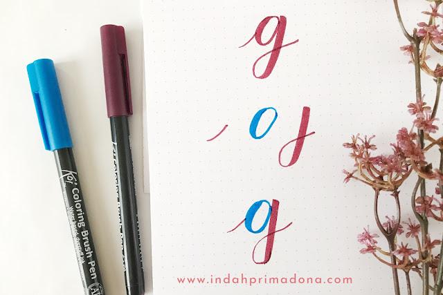 tutorial menulis alphabat dengan teknik calligraphy, menulis alphabet dengan benar dan bagus, basic calligraphy untuk pemula