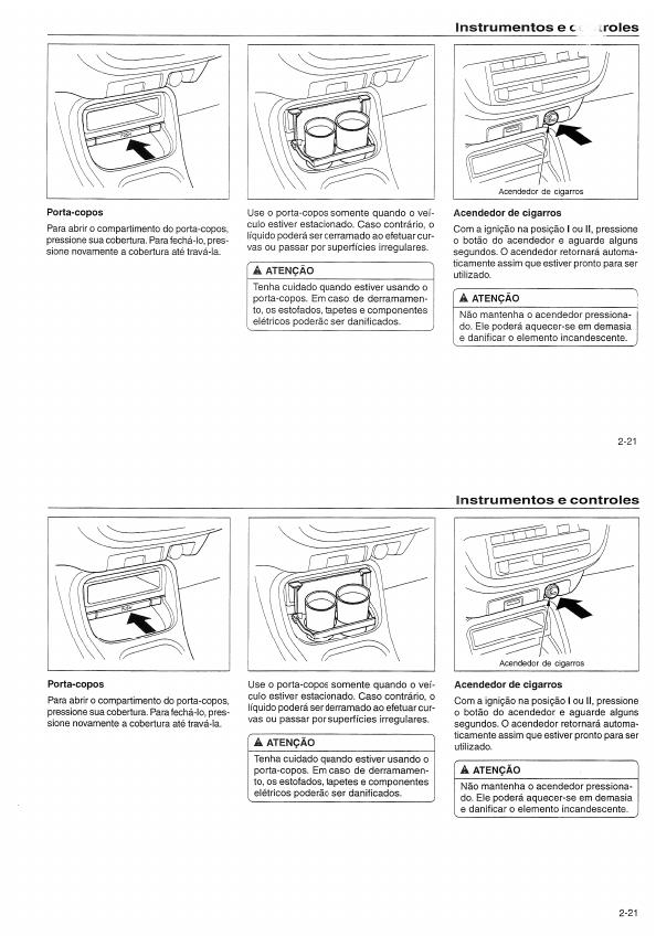 MANUAIS DO PROPRIETÁRIO: MANUAL DO HONDA CIVIC 1998