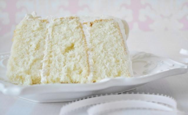 White Velvet Buttermilk Cake #cake #desserts