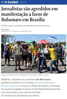 BOLSONARO E O INACEITÁVEL