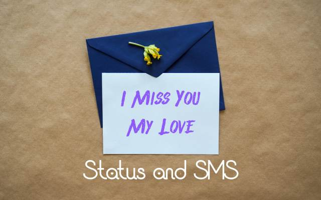 Best Miss You My Love Status in English