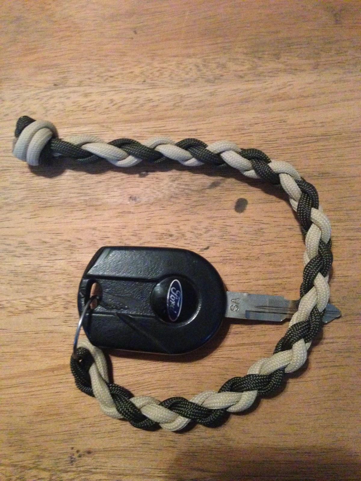The Paracord Cowboy: Key Chain