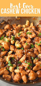 best ever and easy cashew chicken with roasted cashews
