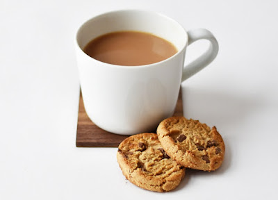 Cup of tea and some biscuits