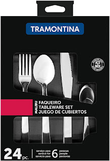 Faqueiro Tramontina Inox Malibu 24pc