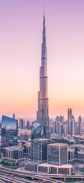 Burj khalifa in Dubai wallpaper