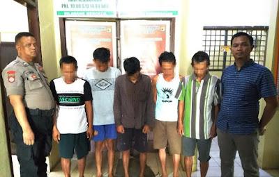 Main Judi, 5 Warga Menggala Ditangkap Polisi
